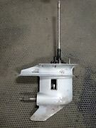 1987 Evinrude Johnson Outboard 25 Hp 15 Lower Unit Gearcase 393423