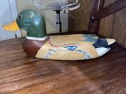 Duck Decoy Antique Vintage Hand Painted Very Old
