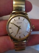 Vintage Lecoultre Automatic Watch - 10k Gold Filled Case - Runs Beautifully