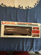 Lionel O And 027 Gauge Texas And Pacific Stock Car 6-7302u Freight Carrier