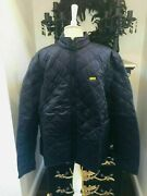 New Barbour International Black Gear Quilt Size Xl R.r.p. Andpound119.00