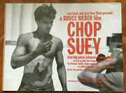 Very Rare Bruce Weber Chop Suey Uk Theatrical Poster 30 X 40 Inches