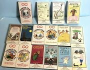 Vhs Lot Of 16 Tapes - Childrenand039s Circle Childrenand039s Books On Tape Vintage