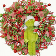 Whoville Christmas Wreath For Front Door