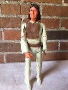Geronimo Action Figure, Johnny West Series, 12 In. Tall, Left Hand Missing