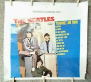 Beatles Yesterday And Today Alternate Blue Cover Slick 15 X 14.25 Barclay