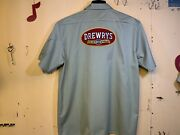 Drewrys Beer Delivery Guy Work Shirt Xl 🍺🍺🍺🍺🍺🍺🍺🍺🍺🍺🍺🍺🍺🍺