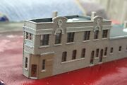 1-87th Ho Scale 3d Printed Industrial Building Kenosha Wi 2 Built And Painted