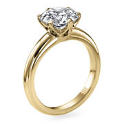 9350 1 Ct Diamond Engagement Ring 14k Yellow Gold Solitaire Si2 E 00251394