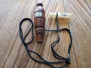2 Vintage Sure Shot Heydels Duck Call Callers Free Shipping