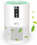 Hepa Air Purifier For Large Home Up To 270 Ft² True H13 Filter 100 Ozone Free