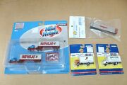 2 Athearn Trucks 2 Mini Metals Trucks And Walthers Apl 48 Container N-scale Jb