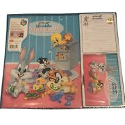 Vtg 1996 Baby Looney Tunes Lovables Baby Book First 5 Years Bugs Daffy New