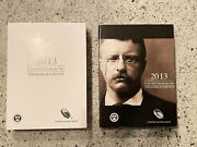 2013 Theodore Roosevelt Coin And Chronicles Set Ogp