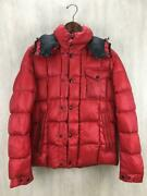 Moncler 1 Polyester Red Red Polyester Fashion Jacket 6395 From Japan