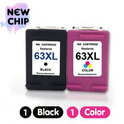 Black And Color 63 Xl Ink Cartridge For Hp Officejet 5255 5258 3830 3831 3832 3834