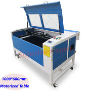 Reci 130w 1000600mm Co2 Laser Cutting Engraving Carving Machine With Motorized