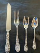 Schofield Baltimore Rose Sterling Set For 8 By 4 Total 32 Pieces Polished Super