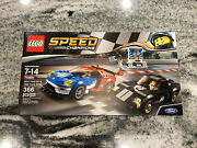 Lego 75881 Speed Champions 2006 Ford Gt And 1966 Gt40 New Nib Retired