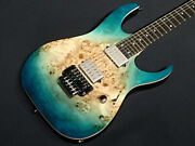 In-store Exhibitions Only One. Ibanez Rg1120pbz Cif Caribbean Islet Flat