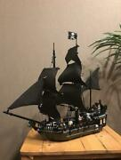 Lego Pirates Of The Caribbean The Black Pearl 4184 In 2011 No Box
