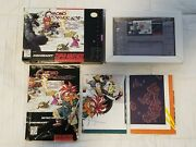 Chrono Trigger Super Nintendo Snes Authentic - Complete Cib - Tested And Saves