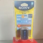 Authentic Genuine Oem Sony Np-qm91 Rechargeable Handycam Battery Pack 7.2v