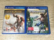 God Of War And Uncharted Golden Abyss Ps Vita Games