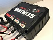 Noco Genius Gen 3 Mini Bank - Marine Battery Charger - For Parts - Untested 4