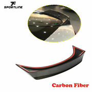 Rear Trunk Lid Spoiler Wing Fit For Bmw I8 14-18 Dry Carbon Fiber Customized