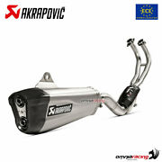 Akrapovic Full Exhaust System Approved Titanium For Yamaha Tmax 560 2020