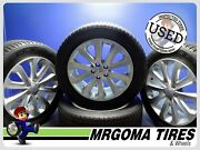 Set Of 4 Wheels Land Rover 20x8.5 Used Rims + 255/55/20 Goodyear Tires 8.5x20
