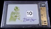 1/1 Bgs 9.5 10 Autograph Rc Jersey Patch Randall Cobb Auto 2011 Rookie Signed