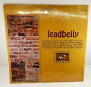 Leadbelly - S/t Lp - Archive Of Folk And Jazz Music Vg+