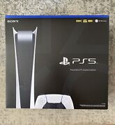 Sony Playstation 5 Ps5 Digitalandnbspedition Console Brand New - In Hand - Ships Free