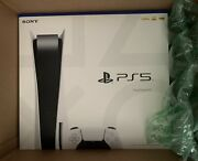 New Sony Playstation 5 Ps5 Disc Console Free Shipping