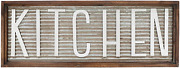 Kitchen Wall Decor Sign Rustic Vintage Farmhouse Country Decoration For Kitchen