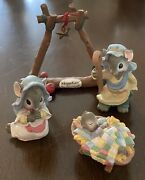 Miniature Mouse Nativity Christmas Mousekins Midwest Of Cannon Falls
