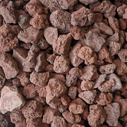 Midwest Hearth Lava Rock For Fire Pits And Gas Log Sets, Red 1/2 To 2 10-lb B