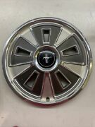 1- 1966 Ford Mustang Hubcaps Spinner Center Cap Vintage Oem Wheel Covers