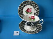 Royal Albert Senorita - Trio - Cup And Saucer And 6 1/4 Plate - Excellent Cond