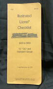 Illustrated Lionel Checklist 1929-1969 O Oo And Standard Gauge, 1st Edition