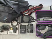 Canon Eos 90d With 18-55mm Lens And Accessories Ships Free