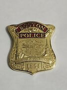 Boston Police Badge 2018 Red Sox World Series Champion Challenge Coin Gold Rare