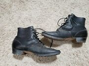 Ww2 German Army Low Boots At The Front Reproductions 14 Wide/32.5cm