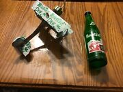 Hillbilly Mountain Full Mountain Dew Bottle And Handcrafted Plane