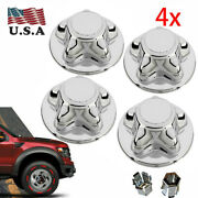4pack 7 Wheel Chrome Hub Caps Center Caps For Ford F150 Expedition 1997-2003