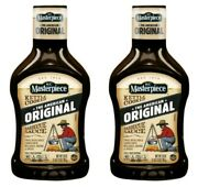 2 Kc Masterpiece Kettle Cooked Original Barbecue Sauce 28 Oz Bottles Bbq
