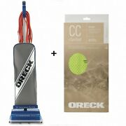 Oreck Xl Commercial Upright Bagged Multi-floor Vacuum Cleaner And 6 Allergen Bags