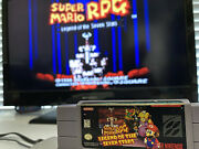 ✅super Mario Rpg Legend Of The Seven Stars Snes ✅💯authentic ✅tested ✅see Pics
